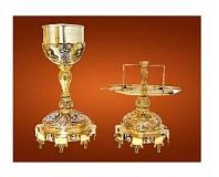 Sfinte Vase Aurite si Argintate