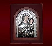 Icoana Argintata Maica Domnului