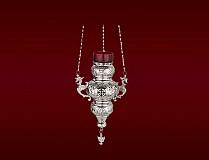Candela Agatatoare Argintata