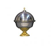 Vas Anafura cu Baza Aurita-Cupa Argintata
