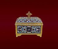 Cutie Sf. Moaste Aurita si Emailata