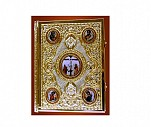 Evanghelie Aurita si Argintata cu Pietre Semipretioase